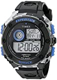 Timex Men's TW4B003009J Expedition Stainless Steel Digital Watch with Black Resin Band