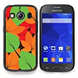 A-type Colorful Printed Hard Protective Back Case Cover Shell Skin for Samsung Galaxy Ace Style LTE/ G357 (Blue Space Galaxy Above Clouds)
