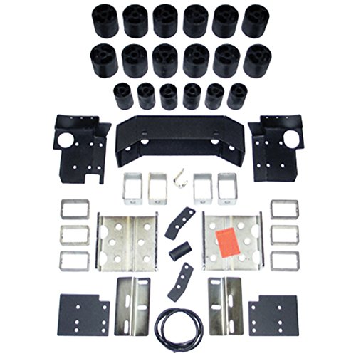 "Performance Accessories, Nissan Titan Gas 2WD and 4WD 3"" Body Lift Kit, fits 2004 to 2009, PA40053, Made in America"