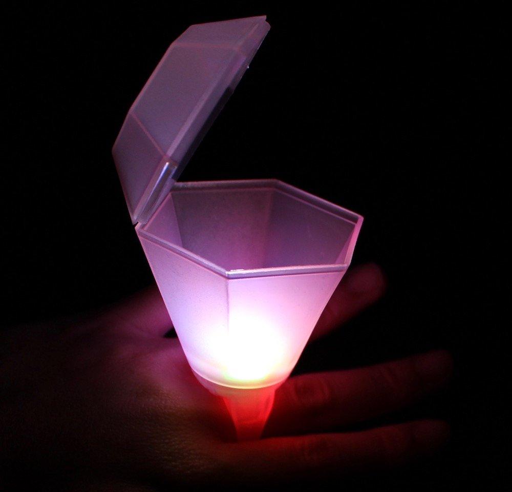 Flashing Ring Shot Glass