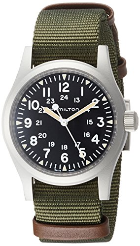 Watch Hamilton Field (Hamilton Khaki Field Mechanical watch H69429931 diameter 38 mm)