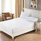LJ&XJ Non-slip tatami mattress,Hotel foldable thin mattress protection pad breathable mattress topper leisure tatami mat-White Queen1