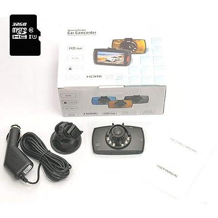 RENLEINB Dash CAM Pantalla LCD de 2,4 Pulgadas Resolución HD ...