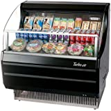 Turbo Air TOM40SB 39 Open Display Merchandiser with Modern Design Environmental Friendly Refrigeration System Glass Sides Anti-Rust Coating High Density PU Insulation and Improved Air Flow: