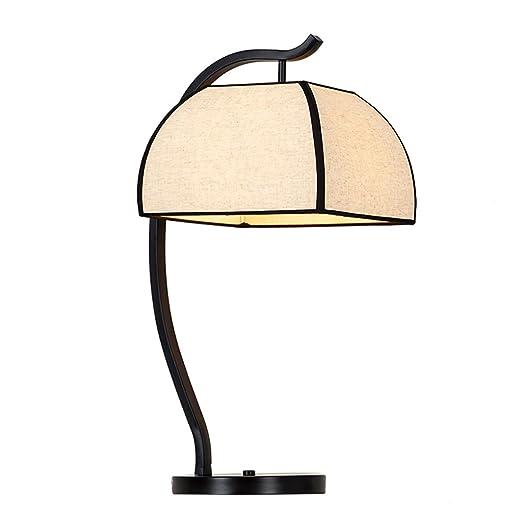 Duminjun 9518 Lámpara de Mesa de Estilo Vintage Lámpara de ...