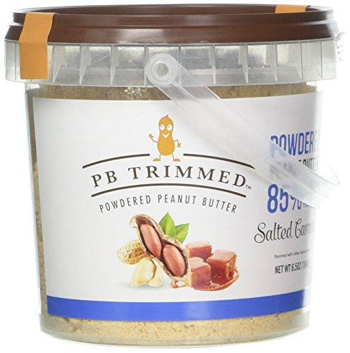 Powdered Peanut Butter (Salted Caramel, 6.5 Oz) PB - Butter Salted