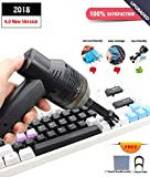 CRSURE USB Keyboard Vacuum,Mini Vacuum Cleaner with Two Replaced...