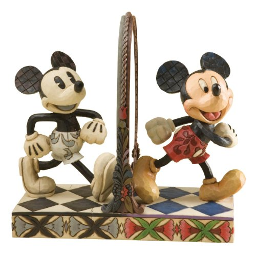 Enesco Disney Traditions by Jim Shore 4011748 Mickey Mouse 80th Aniversary Figurine 8-1 4-Inch