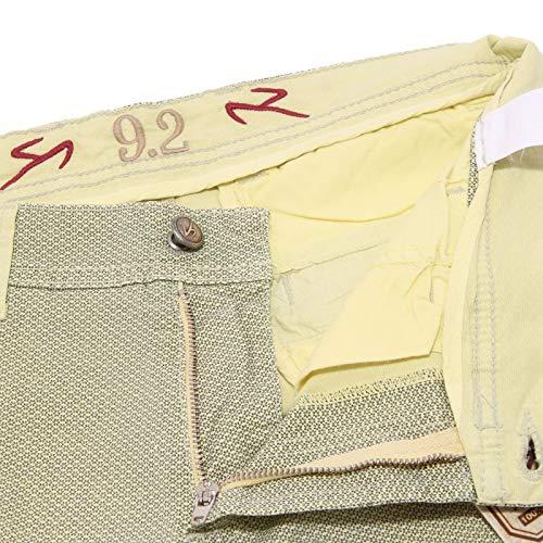 Blue Cotton Trouser Man Pantalone 9 blu Carlo Yellow Giallo 2 Uomo Chionna 5040x Fqq08