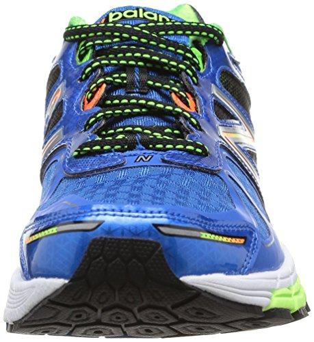 New Balance M860BG4, Scarpe sportive, Uomo Blue/Green D
