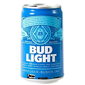 Bud Light Bluetooth Can Speaker- Wireless Audio Sound Stereo Beer Can, Bluetooth Bud Light music pla
