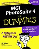 img - for MGI Photosuite 4 For Dummies by Jill Gilbert Welytok (2000-11-01) book / textbook / text book