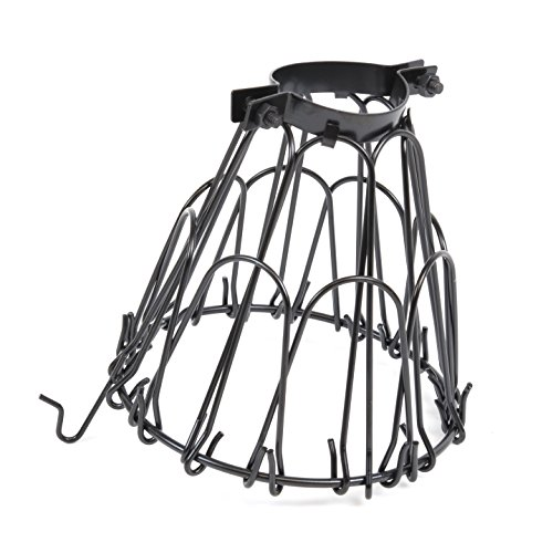 Industrial Vintage Style Black Hanging Pendant Light
