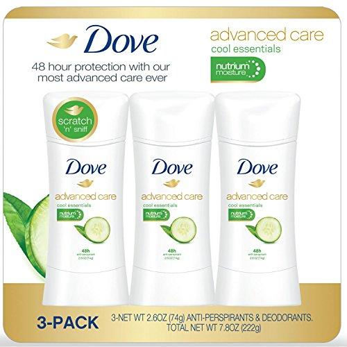Dove Advanced Care Deodorants Essentials