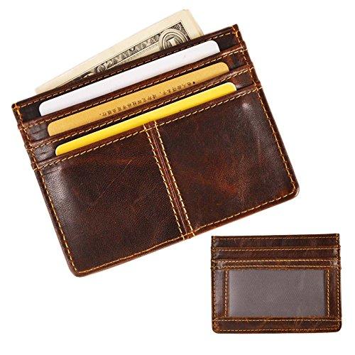 leaokuu-genuine-leather-thin-card-case-holder-slim-handy-wallet-front-pocket-id-window-coffee