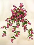 Flores artificiales alámbrico Buganvilla Trailing Planta de GT Decorations