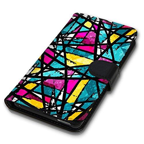 Wallet Book Style Flip Handy Tasche Case Schutz Hülle Schale Motiv Etui für Apple iPhone 6 Plus / 6S Plus - Design Flip MVD191
