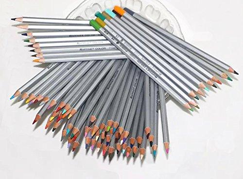 Colored Pencils 72-color Art Drawing Pencils for Artist Sketch / Secret Garden Coloring Book (72 Pcs)