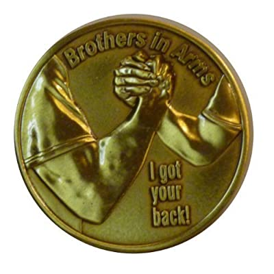 Brothers In Arms Challenge Coin: Toys & Games