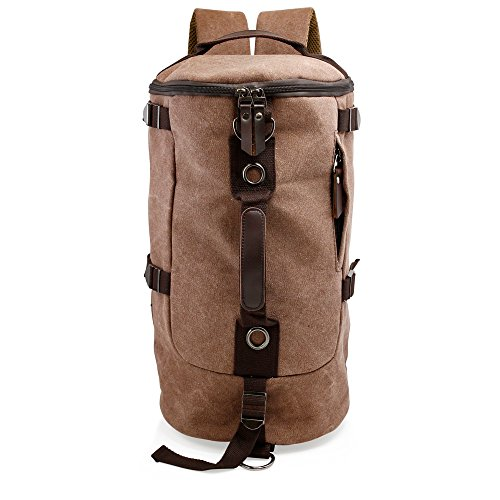 Oct17 Men's Canvas Hiking Backpack, Sports Daypack Outdoor Bag Rucksack - Outfitters Urban Aviators