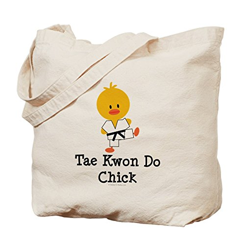 CafePress Tae Kwon Do Chick Tote Bag - Standard Multi-color by CafePress