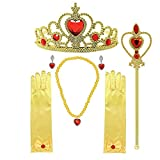 MISS FANTASY Princess Dress up accessories Cosplay Jewelry Set Christmas Supplies Birthday Party Favor