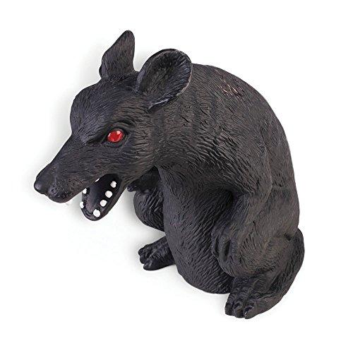 7 Inch Possessed Black Rat Prop
