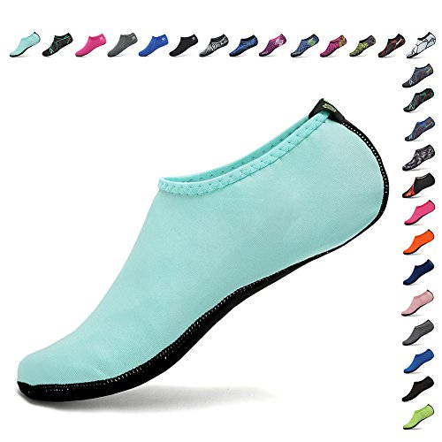 CIOR Womens and Kid Water Shoes Barefoot Quick-Dry Aqua Socks for Beach Swim Surf Yoga Exercise 3rd Upgraded ()