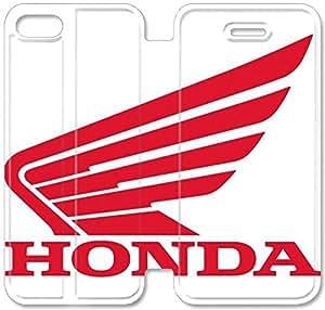 iPhone 4 Funda de cuero del tirón 4S Honda V3C46P7 funda protectora de la caja personalizada Y2K56V2 funda