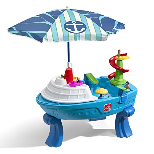 - Step2 Fiesta Cruise Sand & Water Table with Umbrella Play