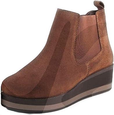 Botines InShoes 493 Corte-Piel,Forro-Piel y Tela,Plantilla-Piel ...