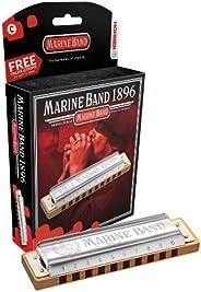 Hohner 1896 Harmonic Minor Marine Band Harmonica
