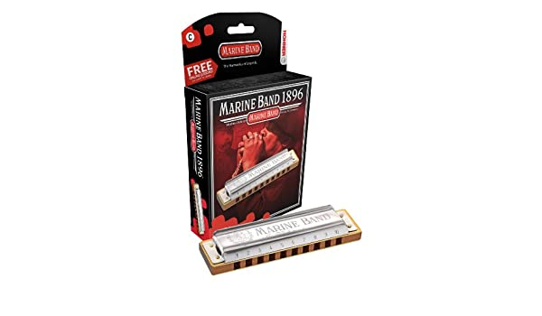 Hohner 1896/20 (f# nm) Marineband classic natural minor Nota fa ...
