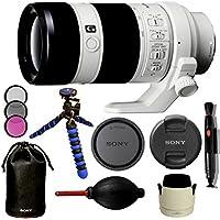 Sony SEL70200G FE 70-200mm F4 G OSS E-mount Full Frame Interchangeable Lens - International Version (No Warranty). Bundle Includes: 12 Flexible Gripster Tripod + 72mm filter kit + More