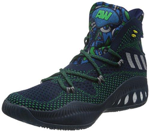 Scarpe mgsogr conavy green Adidas Basket Multicolore Explosive Da Crazy Uomo 6CFqCRw