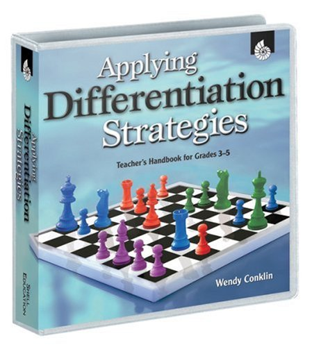 Applying Differentiation Strategies: Teacher's Handbook for Grades 3 - 5 (100th Day Of School Activities For Second Grade)