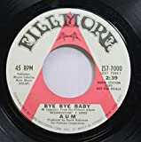 Aum 45 RPM Bye Bye Baby / Resurrection