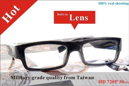 Built-in 32GB HD 720p Spy Hidden Slim Glasses Camera mini covet Eyewear Glasses Cameras Nanny camera DVR