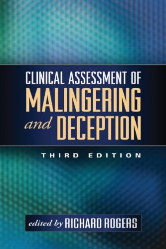 Clinical Assessment of Malingering and Deception, Third Edition PDF