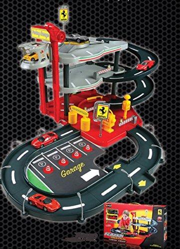 Ferrari Parking Garage Set Bburago 1:43rd Diecast