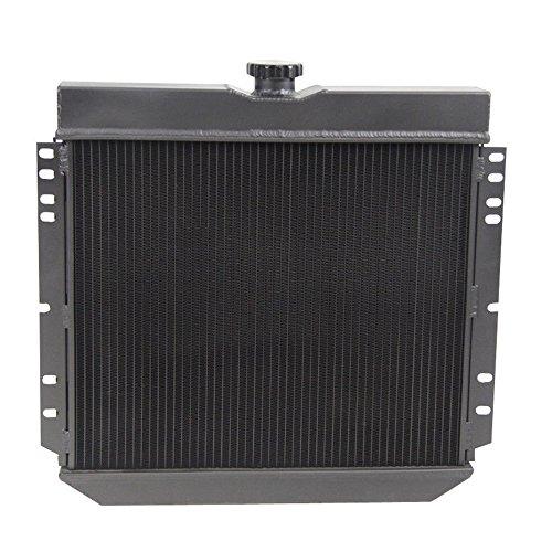 3-ROW ALUMINUM RACING RADIATOR 69-70 FORD MUSTANG//-77 MAVERICK 4.1L//5.0L l6//V8