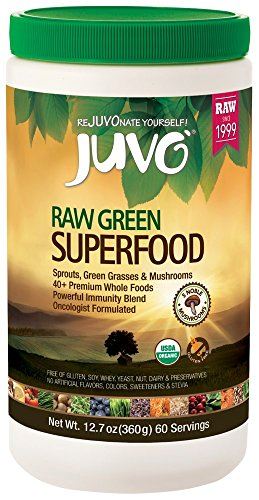 Juvo Raw Green Superfood, 12.7 Ounce (Fruit Punch Stuff Liquid)