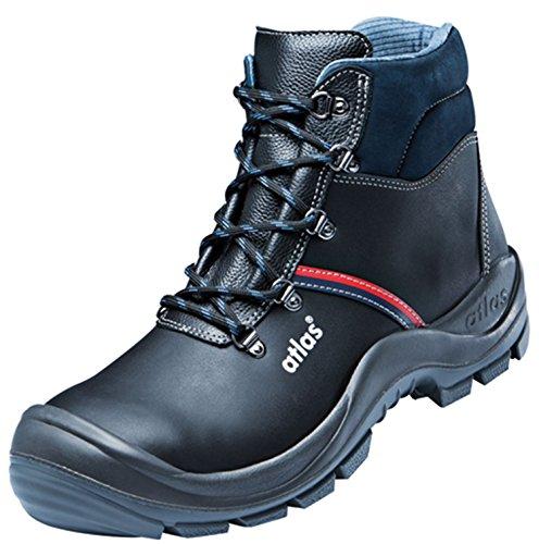Atlas Anatomic Bau 500 Chaussures de sécurité norme EN ISO 20345:2004 S3 45 Weite12 noir
