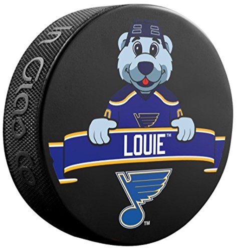 Souvenir Hockey Puck Louie Blues Team Mascot