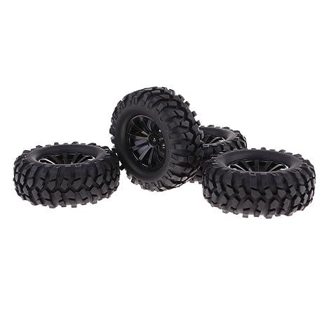 """KESOTO Neumáticos De Goma DE 96 Mm Neumáticos DE 1.9 """"Ruedas para 1/"""