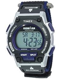 Timex Men's T5K198 Ironman Endure Shock 30-Lap Grey Dial Watch