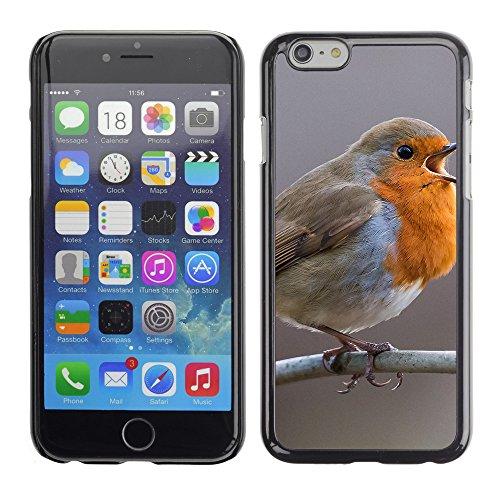 "Premio Sottile Slim Cassa Custodia Case Cover Shell // F00017586 oiseau Chanter // Apple iPhone 6 6S 6G 4.7"""