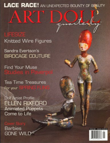 Art Dolls Quarterly, Spring 2008 Issue