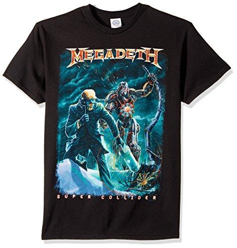- FEA Men's Megadeth Vic Canister T-Shirt, Black, X-Large