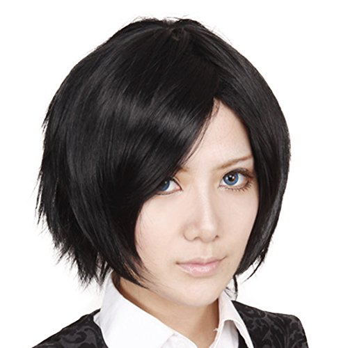 Echizen Ryoma Eight APH Country Anthropomorphic Honda Chrysanthemum Orihara Short Black Cool Wigs - Japan Country Costume